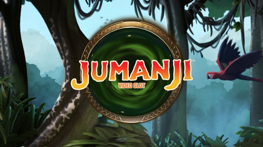 Jumanji logo banner