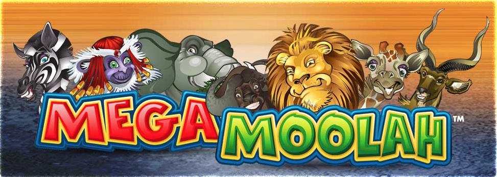 Dyrene fra Mega Moolah spilleautomat