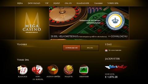 Spil Mega Casino her!