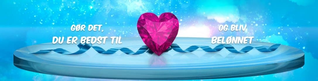 Vera og John banner med hjerte