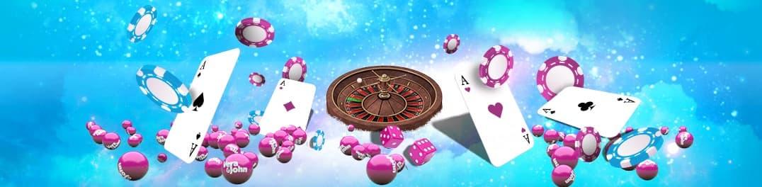 Roulette og kortspil hos Vera og John