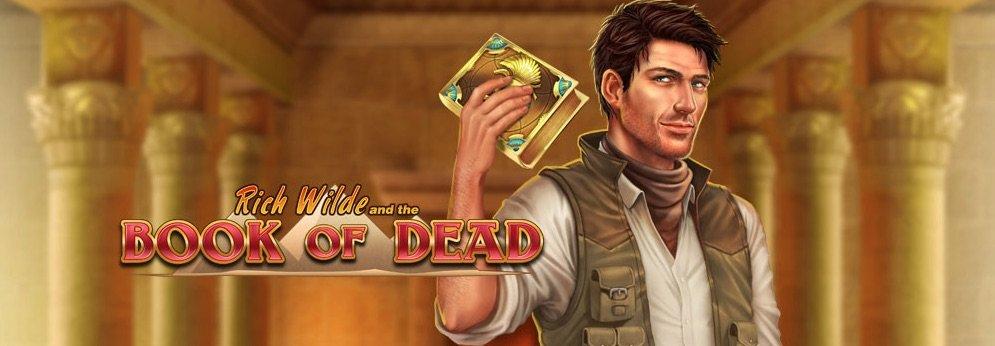 Book of Dead spilleautomat banner
