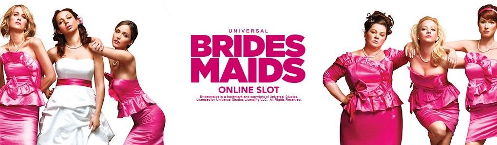 Bridesmaids film baseret spilleautomater banner