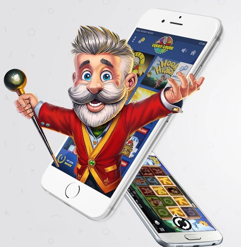Lucky Louis Casino app