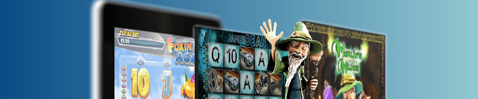 NextGen gaming spilleautomater banner