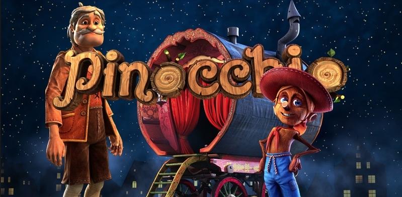 Pinocchio horisontal banner