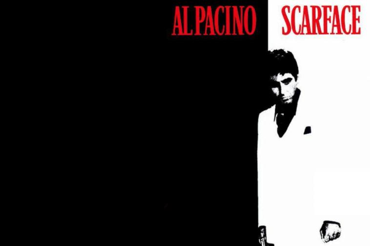 Scarface film baseret spilleautomater banner
