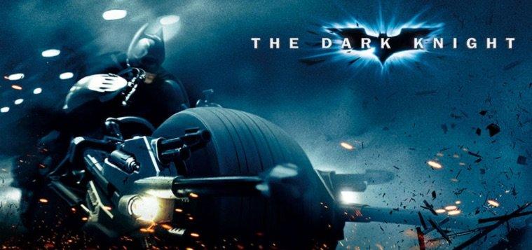 The Dark Knight film baseret spilleautomater banner