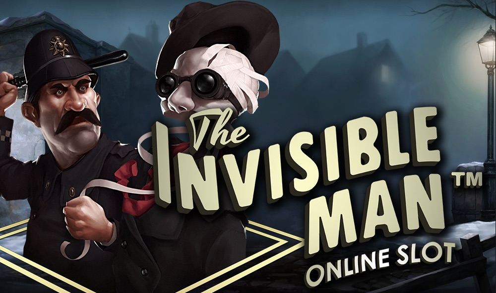 The Invisible Man film baseret spilleautomater banner