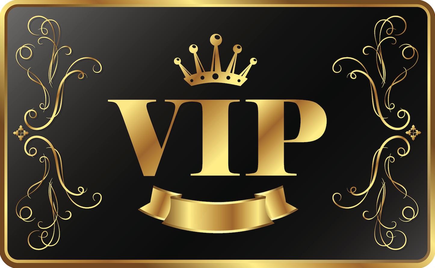 VIP banner casino bonus klubber