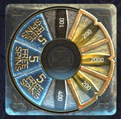Asgardian Stones Bonus Wheel