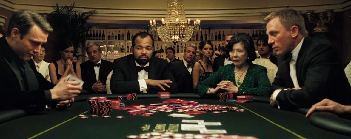 Bedste casino film James Bond Casino Royale