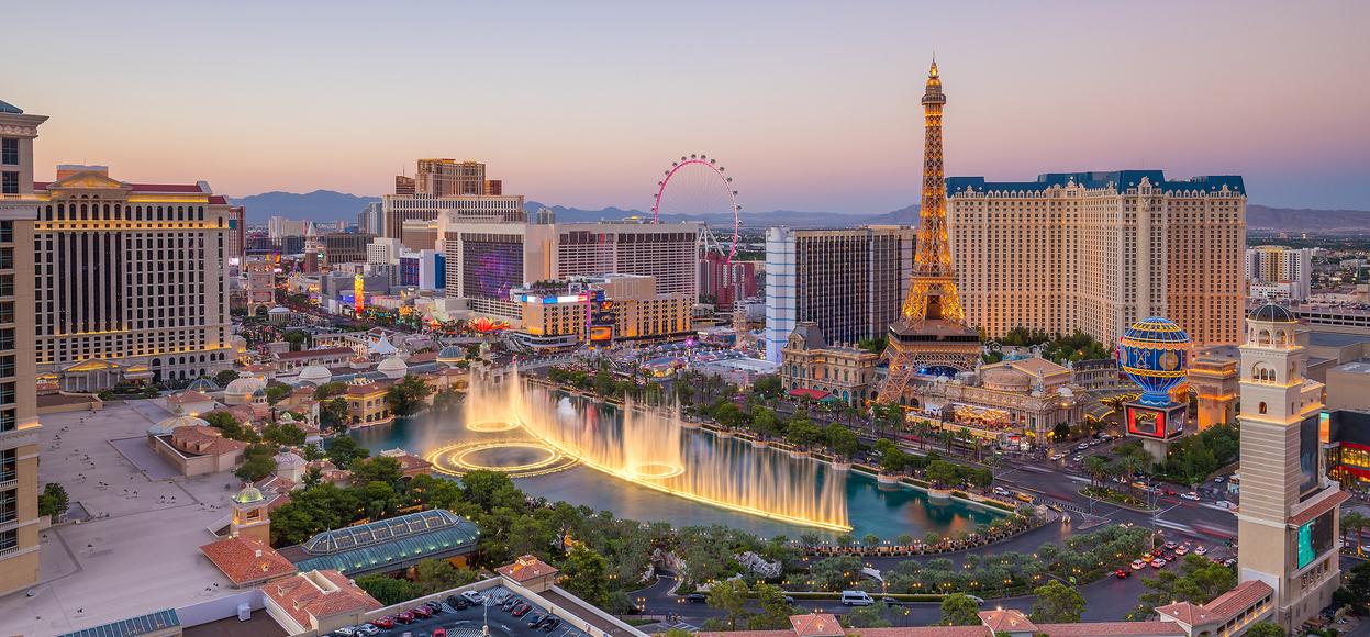 De absolut bedste spilledestinationer i verden Las vegas Nevada