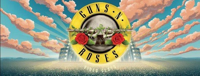Guns n Roses spilleautomat banner