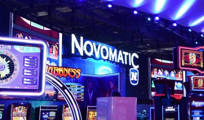 Novomatic spilleautomater på casino