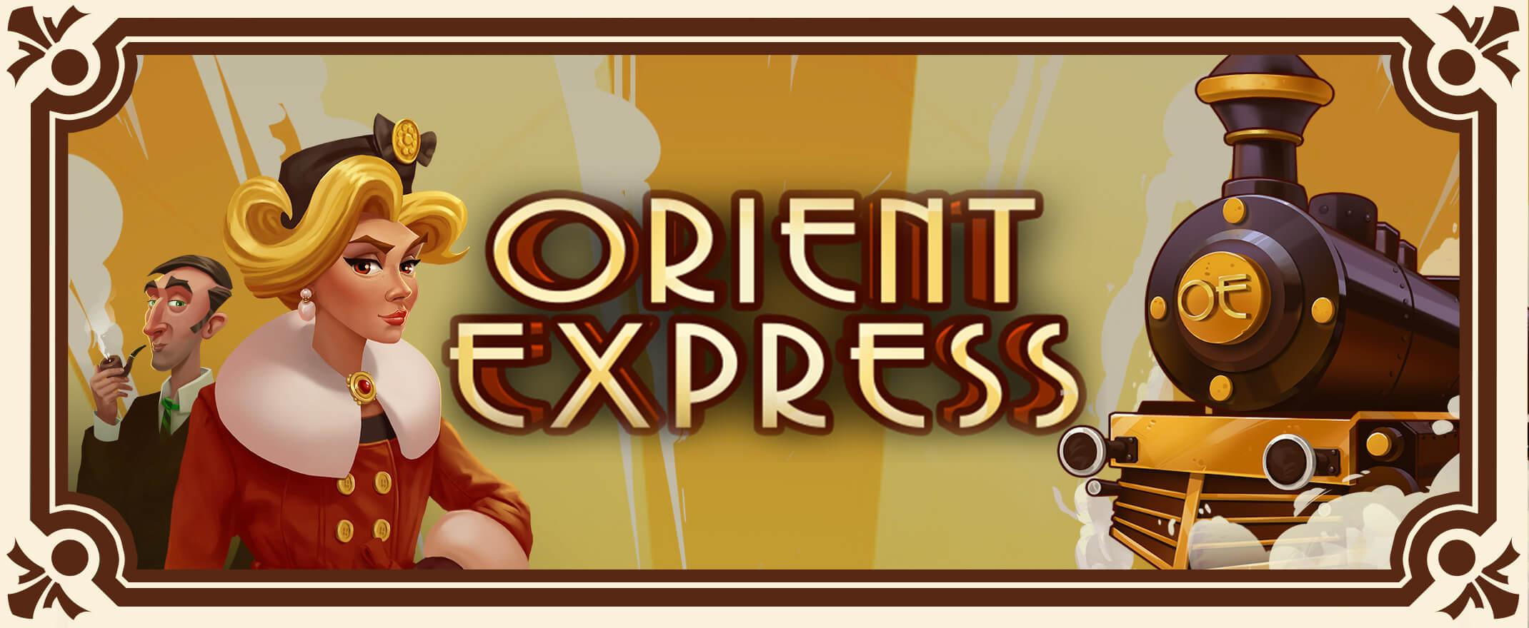 Orient Express casino banner