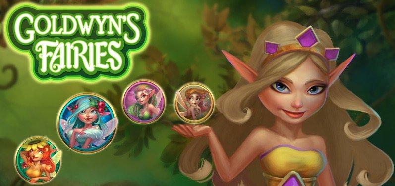 Goldwyns Fairies spilleautomat