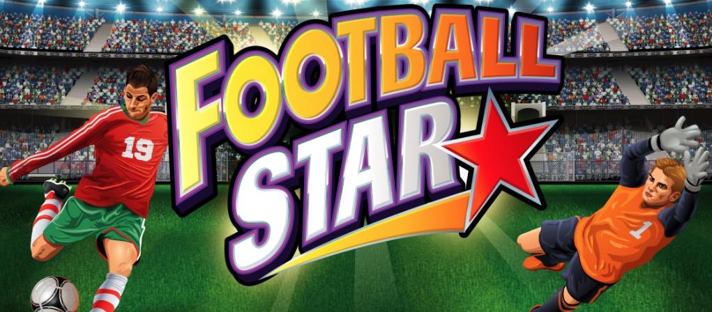 Spilleautomater med sportstema Football Star med fodbold som tema