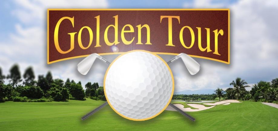 Spilleautomater med sportstema Golden Tour med golf som tema