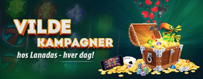 Lanadas casino kampagner