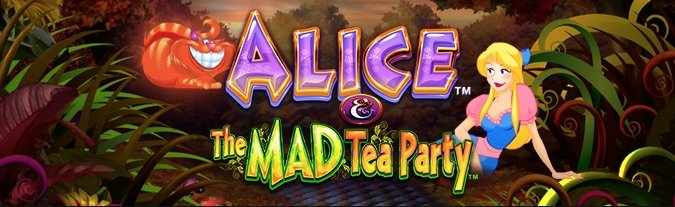 Alice and the Mad Tea Party spilleautomat på Lucky Niki Casino