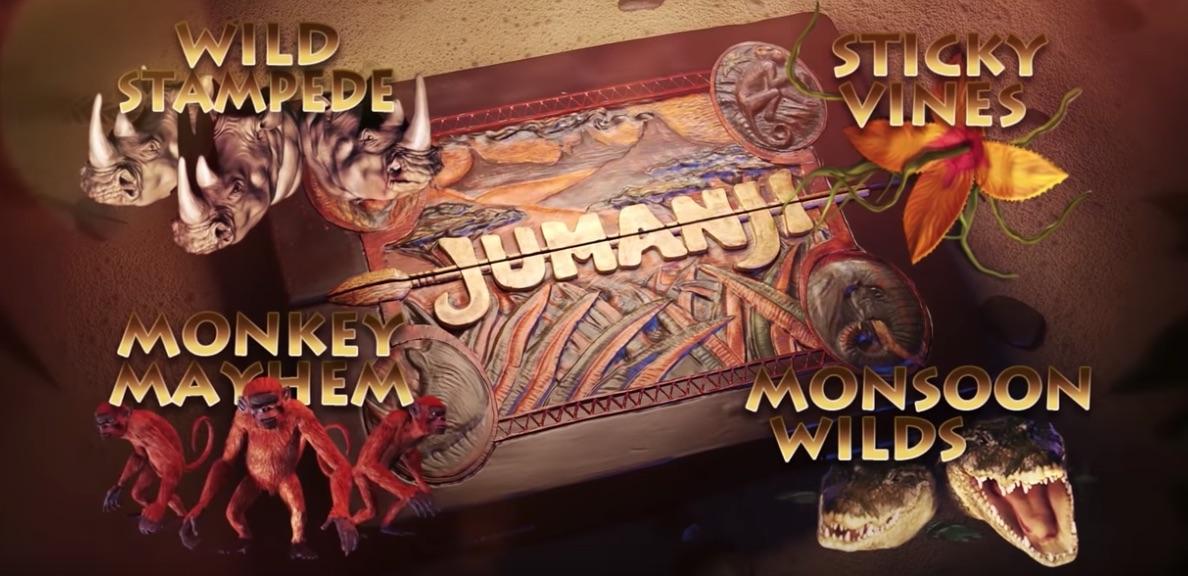 Jumanji spilleautomat Board Game