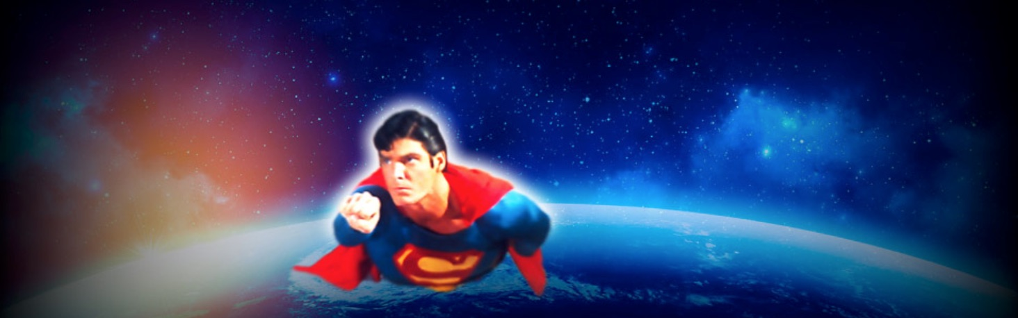 Superman the Movie spilleautomat banner