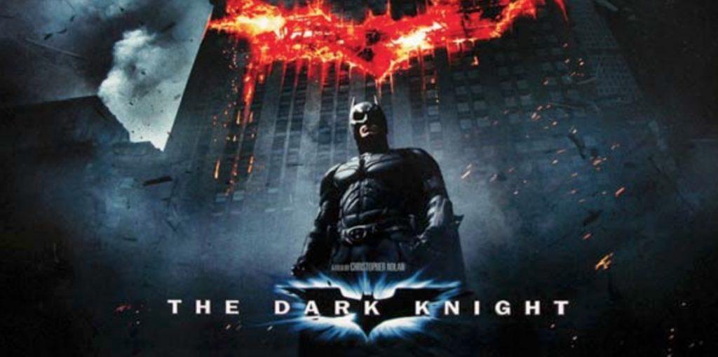 The Dark Knight spilleautomat banner