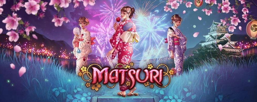 Matsuri spilleautomat banner