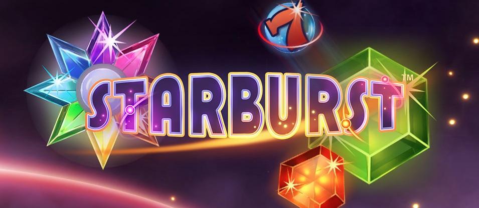 Starburst spilleautomat banner