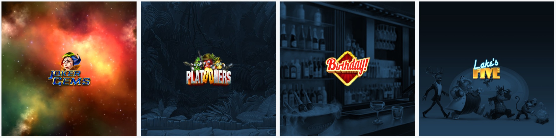 Elk Studios spilleautomater logoer