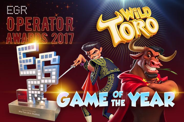 Wild Toro banner med pris for bedste spilleautomat