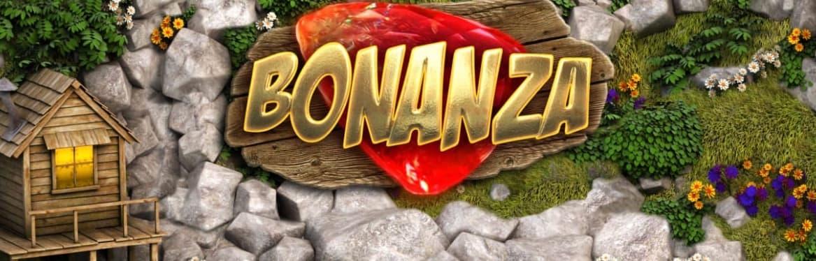 Bonanza spilleautomat logo banner