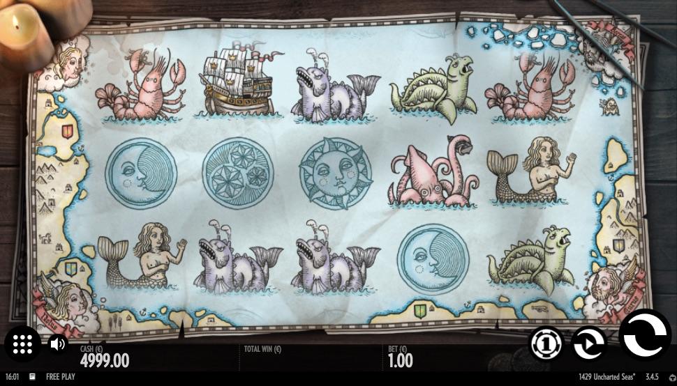 1429 Uncharted Seas symboler