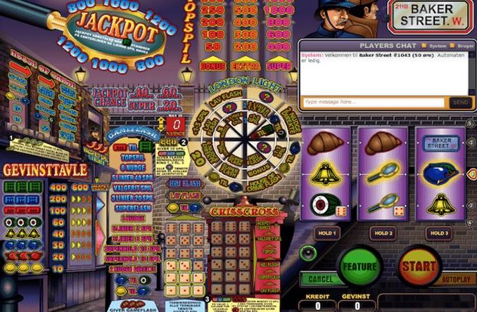 Baker Street spillemaskine