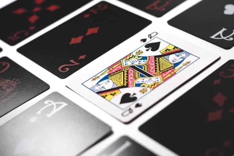 Blackjack spillekort