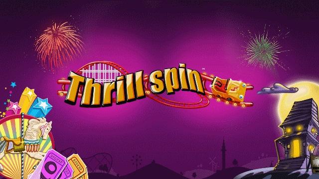 Thrill Spin Banner Lilla
