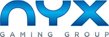 NYX Gaming banner i blåt