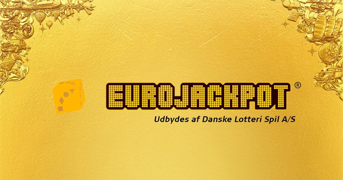 Eurojackpot Guld Banner