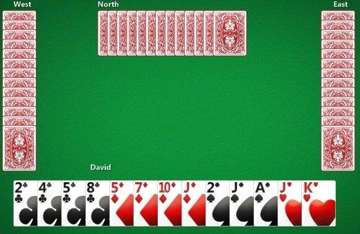 Hjerterfri Spillebord
