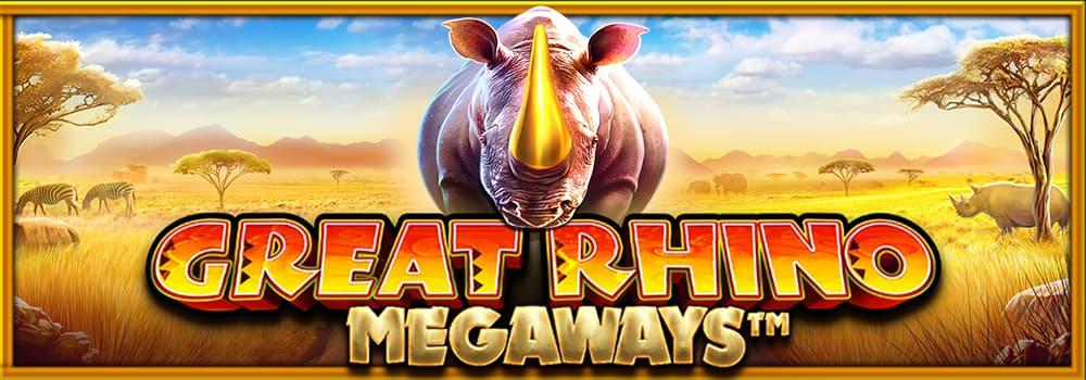 Great Rhino Megaways Banner