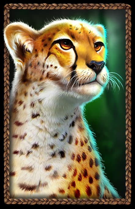 Great Rhino Megaways Gepard Symbol