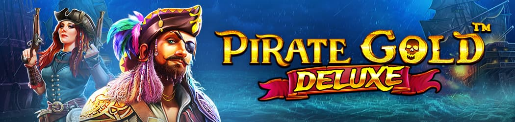 Pirate Gold Deluxe Banner