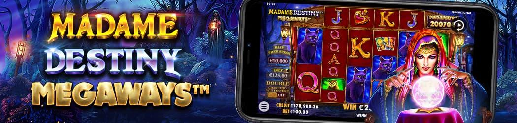 Madame Destiny Megaways Banner