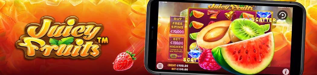 Juicy Fruits Banner